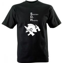 Vtipné tričko s potiskem Spěchám do hospody