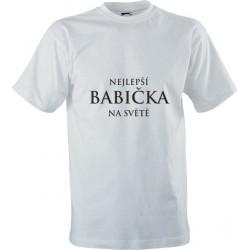 Vtipné tričko s potiskem Nejlepší babička na světě