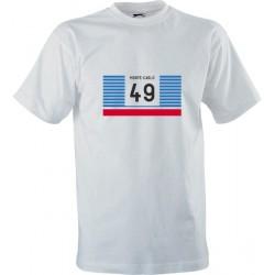 Retro tričko s potiskem Rallye Monte-Carlo 1977