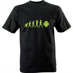 IT tričko s potiskem Android evoluce