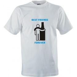 Vtipné tričko s potiskem Best friends forever