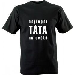 Vtipné tričko s potiskem Nejlepší táta na světě