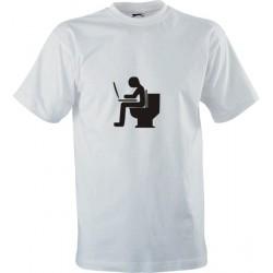 IT tričko s potiskem WC