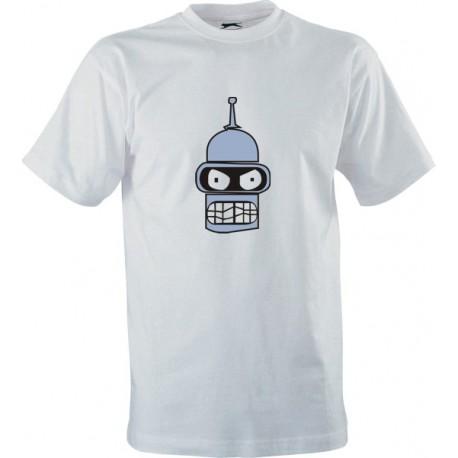 Seriálové tričko Futurama s potiskem Naštvaný Bender