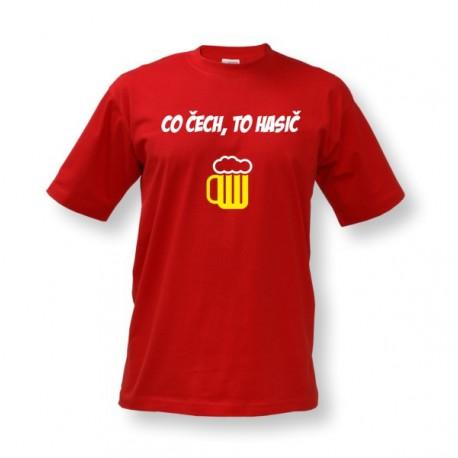 Vtipné tričko s potiskem Co Čech a3a54e4bdf