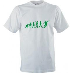 Sportovní tričko s potiskem Fotbalová evoluce