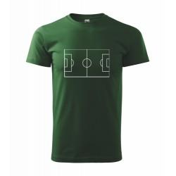 Sportovní tričko s potiskem Fotbalové hřiště