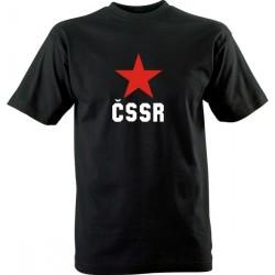 Retro tričko s potiskem ČSSR