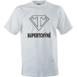 Vtipné tričko s potiskem Super tchýně