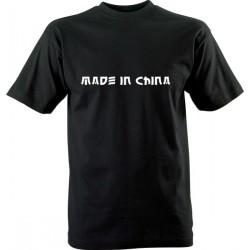 Vtipné tričko s potiskem Made in China